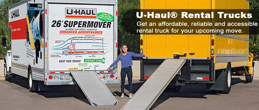 u haul moving truck rental boxes ogle s tool party rental. Black Bedroom Furniture Sets. Home Design Ideas