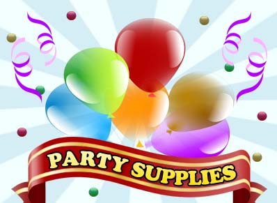 We sell party supplies
