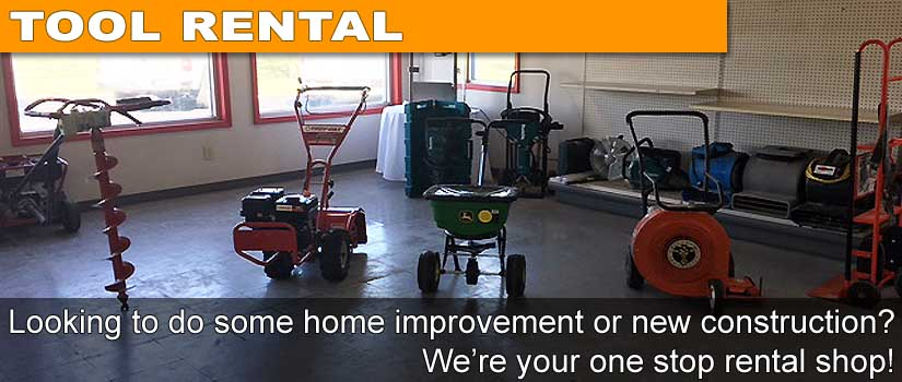 Tool Rental - Home Improvement to Contruction Equipment We Rent it All - Columbus Indiana
