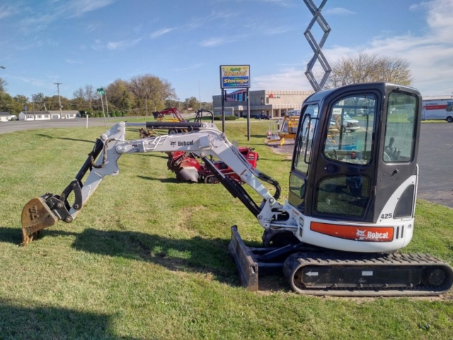 Bobcat Mini Excavator Rental Columbus Indiana