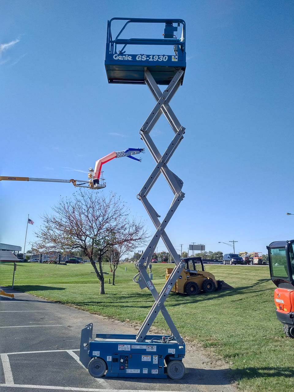 Genie 19ft Scissor Lift Rental Columbus Indiana
