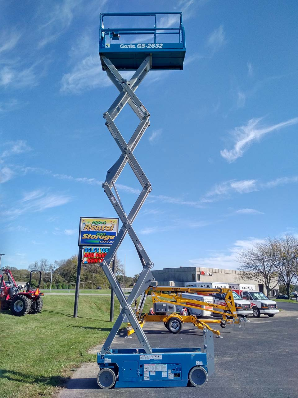 Genie 26ft Scissor Lift