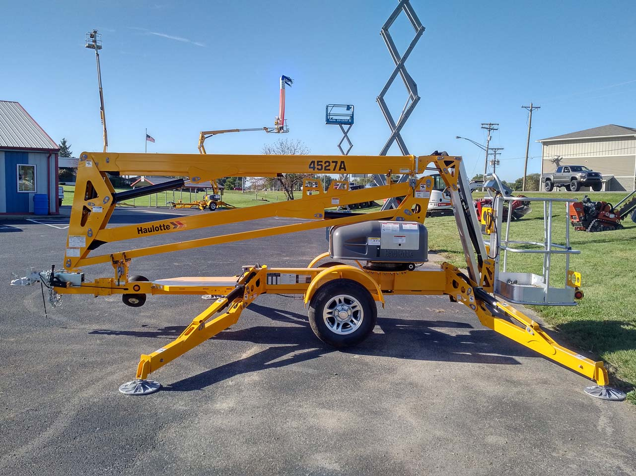 Haulotte Boom Lift Rental Columbus Indiana