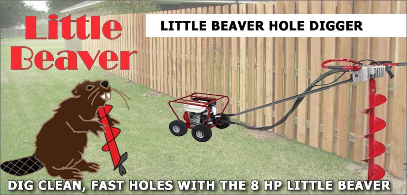 Little Beaver Post Hole Digger