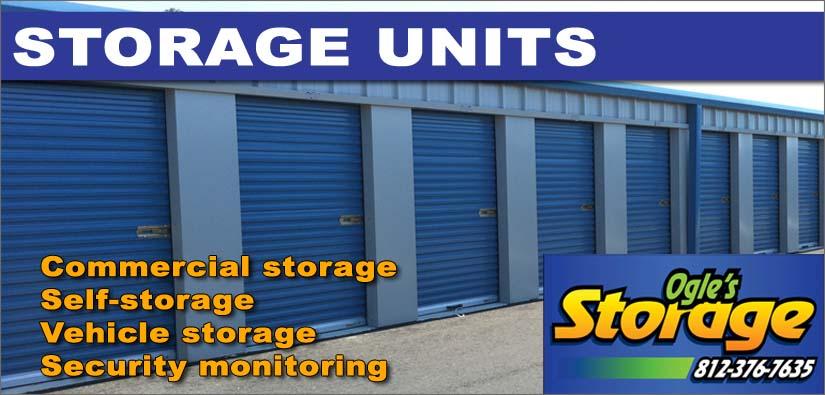 Storage Units - Self-storage, Vehicle Storage, Commercial Storage
