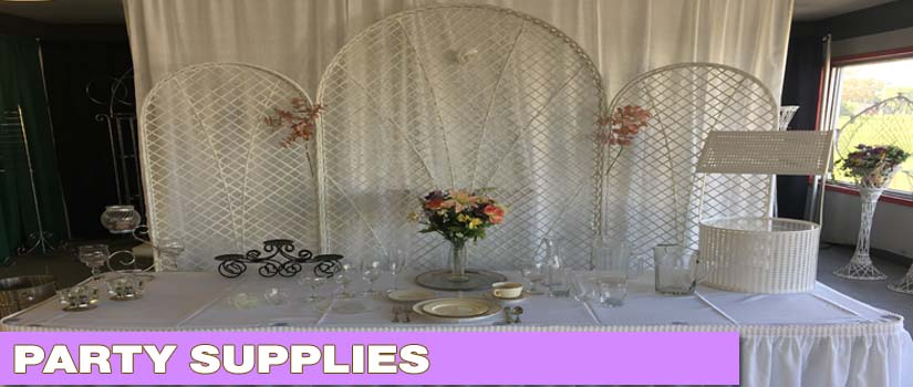 Party Supplies - Conferences & Meeting - Wedding and Reception - Birthday - Carnival