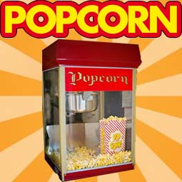 Rent Popcorn Machine and Supplies