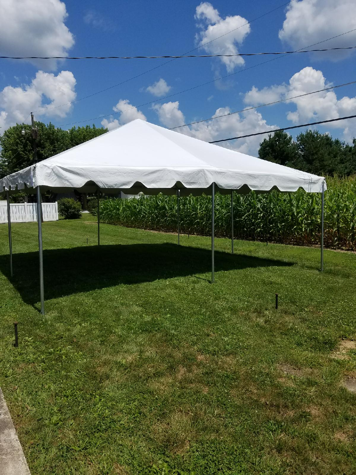 Outside Tent Rental Columbus Indiana